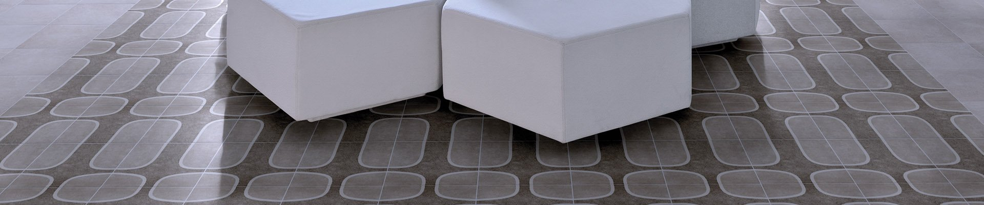 Finish Line Ceramic / Porcelain Rio 21 - An interpretation very contemporary and authorial of the hydraulic tile. Designs in geometric patterns inspired in icons of the wonderful city. 